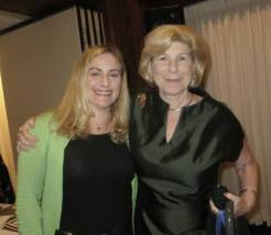 Marisa with Nina Totenberg