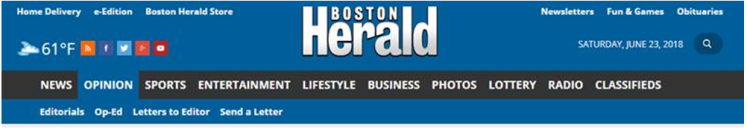 BLOG.Herald Banner from June 23, 2018